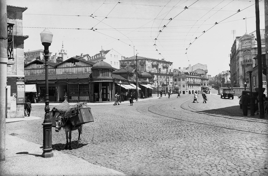 Rua do Prior do Crato, Alcântara (E.Portugal, 1940)