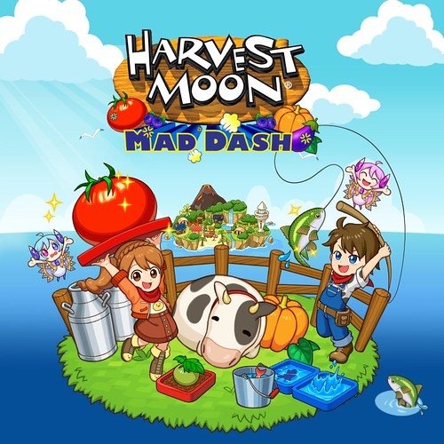 Thumbnail of Harvest Moon: Mad Dash on PS4