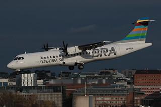 BRA Braathens Regional Airlines ATR 72-500 SE-MDH 191025 BMA