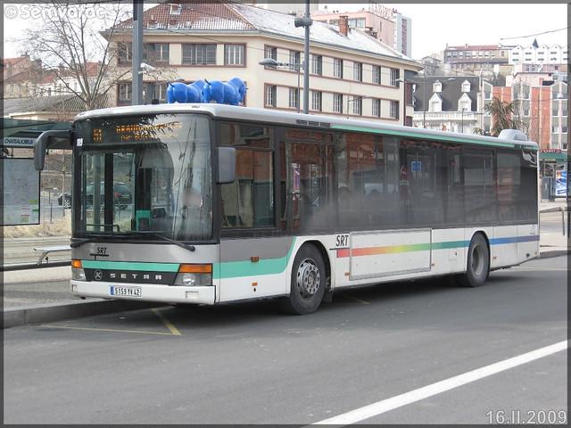 Setra S 315 NF – SRT Autocars / STAS (Société de Transports de l'Agglomération Stéphanoise) n°109