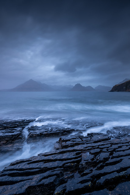 Dramatic weather at Elgol, Isle of Skye