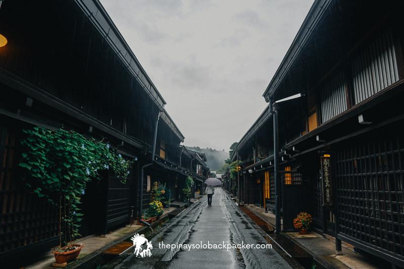 TAKAYAMA TOURIST SPOT: Takayama Old Town (Sanmaji Suchi)