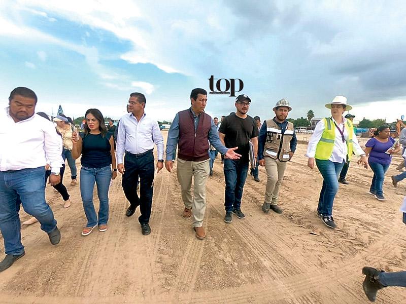Millonarias inversión a Matamoros para obras públicas