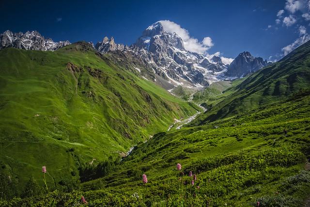 Mount Ushba, Caucasus