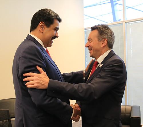 Presidente Nicolas Maduro: Reunión con Peter Maurer, presidente del Comité Internacional de la Cruz Roja (CICR)