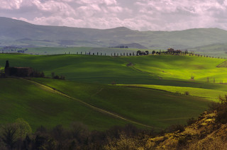 luci in val d'orcia