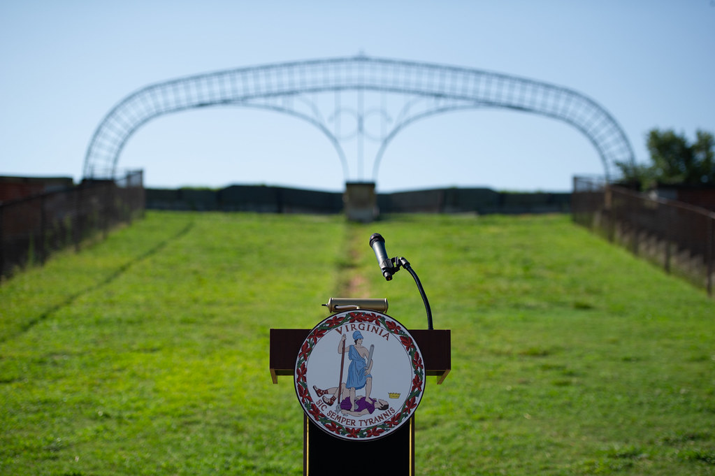 08-06-2019 Commemoration of the Jefferson Davis signage removal at Fort Monroe