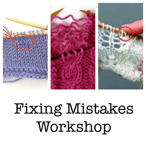 Register for our Fixing Mistakes Workshop!