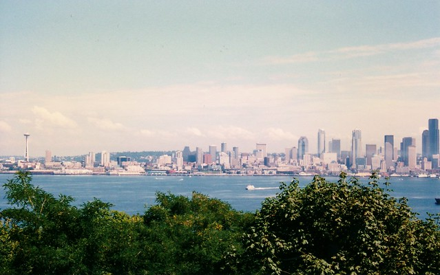 Seattle Skyline - September 1997