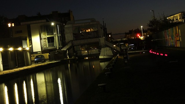 Union Canal at Night