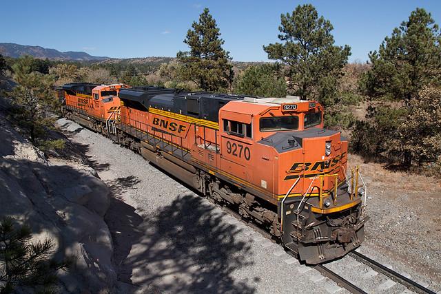 BNSF 9270 Colorado Springs 19 Oct 19
