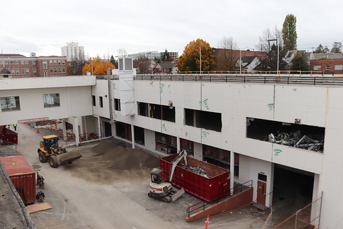 Construction Progress for Center for Allied Health Education