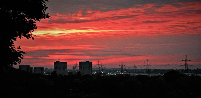 Bromford sunset