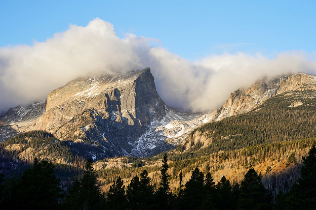 Rocky Mountain National Park - Clouds