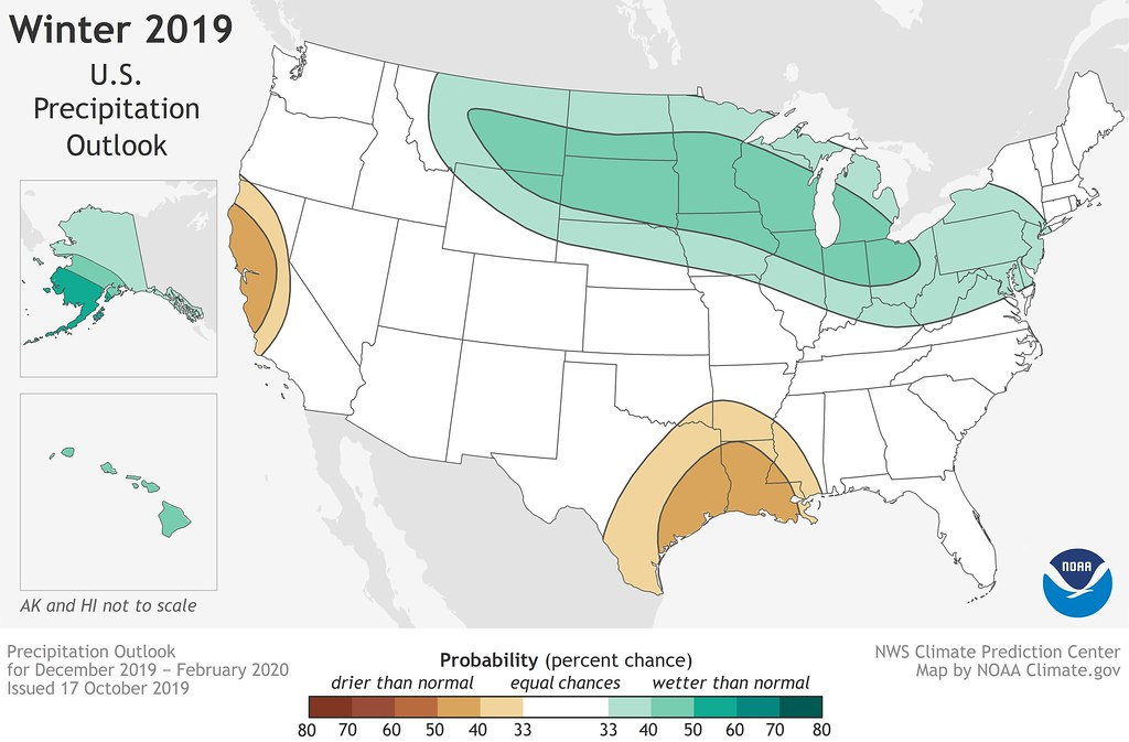 IMAGE - for 101719 - U.S. MAP - Precipitation likely - Winter Outlook 2019 - Climate.gov - Landscape NATIVE