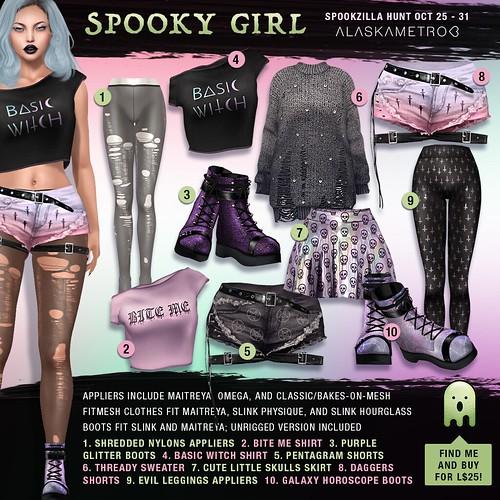 alaskametro<3 for Spookzilla