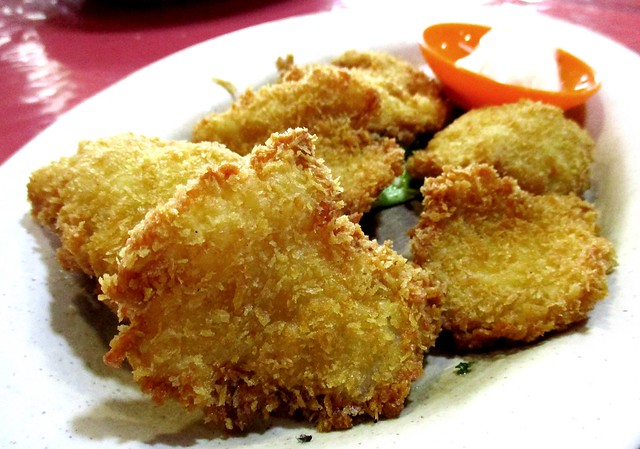 Ruby fish fillet with mayo