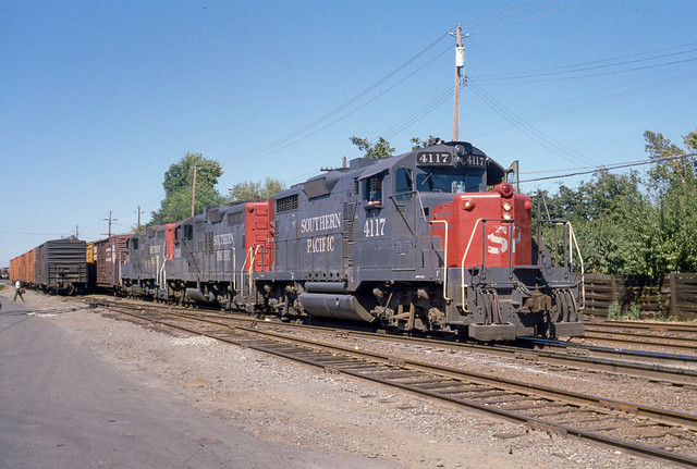 SP 4117 at Davis, CA