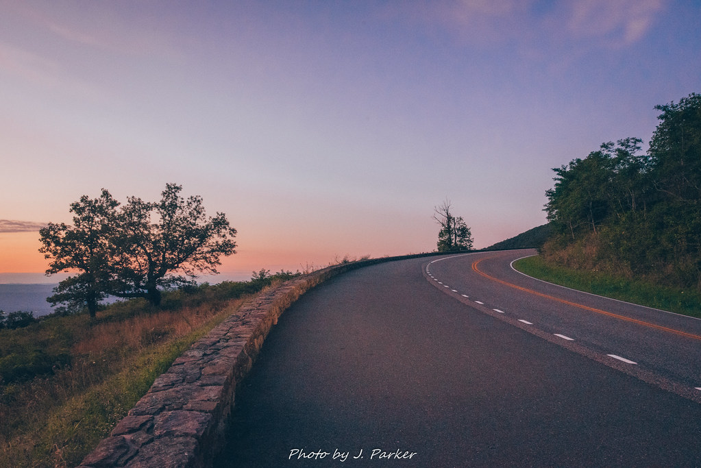 Skyline Drive Twilight