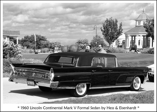 1960 Lincoln Continental Mark V Formal Sedan