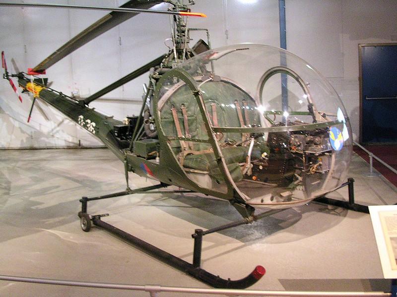 Hiller UH-12 Raven 1