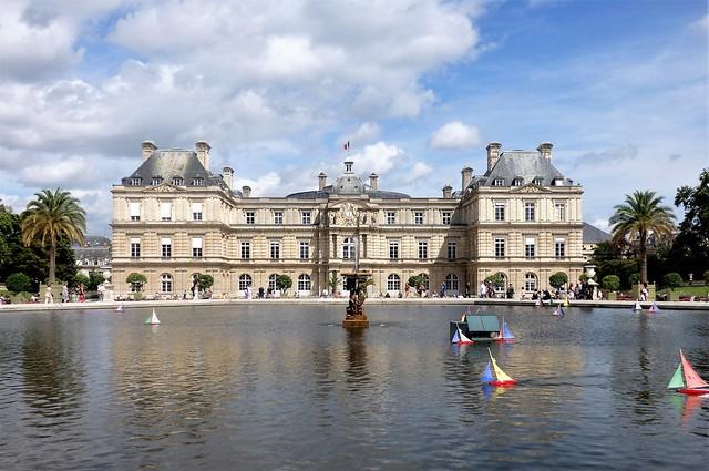 Paris - Palacio de Luxemburgo.