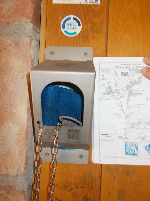 VCSE - Az Országos Kéktúra ágasvári pecsétje - Csizmadia Ákos