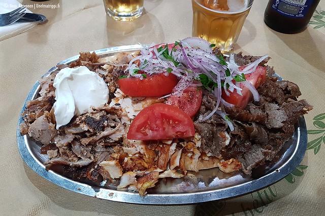 Kebabia lautasella