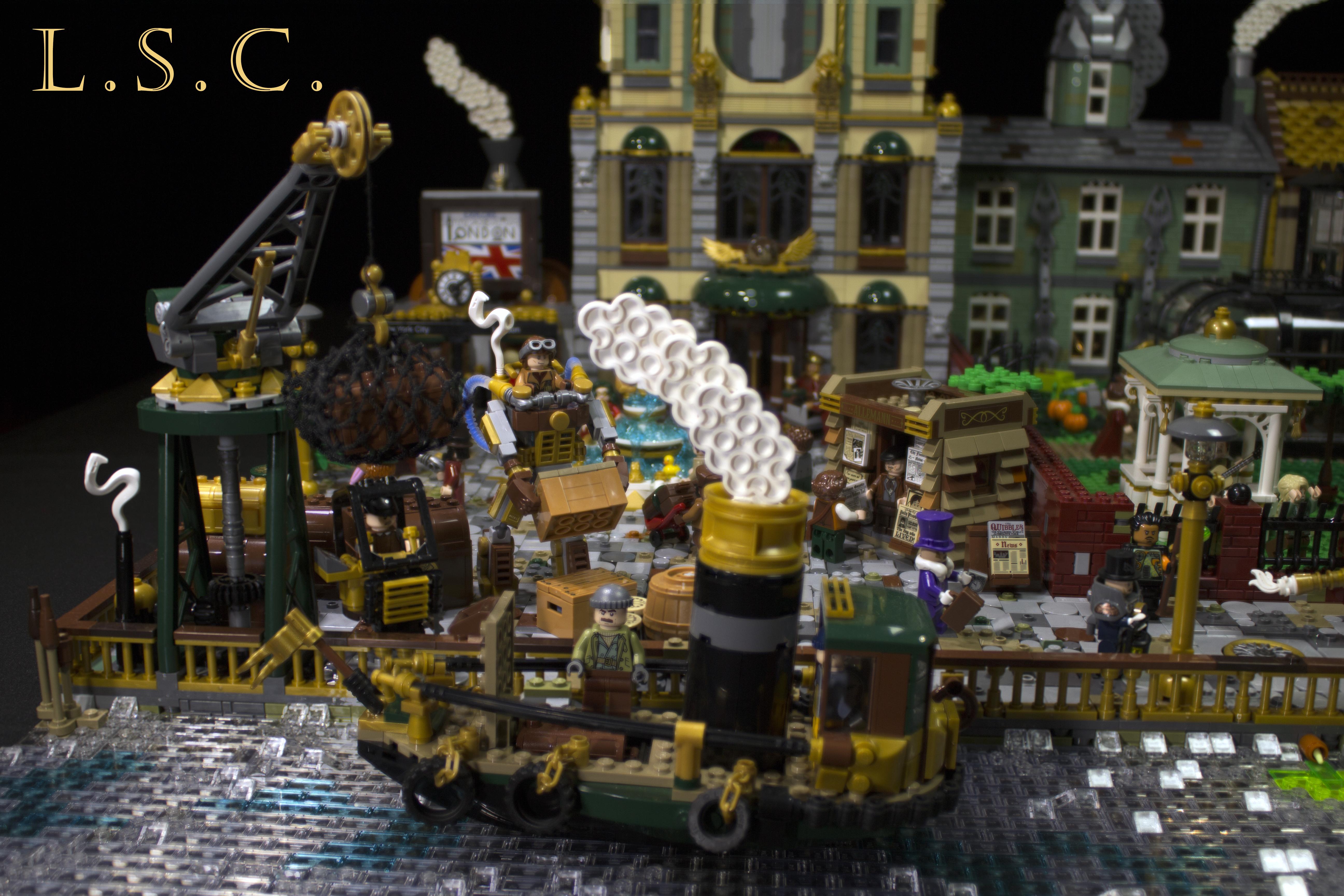 staem city lego