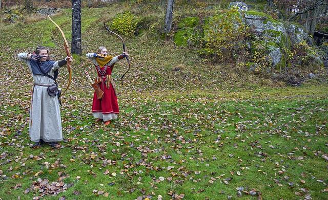 Valkyries Malin og Vilje, at Bronseplassen, Norway