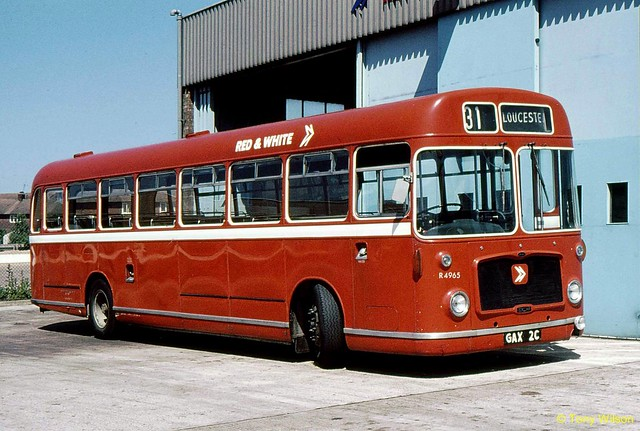 GAX2C National Bus Company NBC Red & White R&W R4965