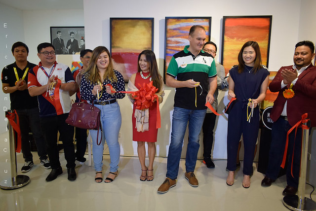 _Ribbon Cutting, SARILING SINING Art Exhibit (image 03)