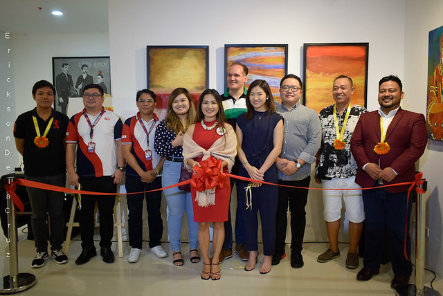 _Ribbon Cutting, SARILING SINING Art Exhibit (image 01)