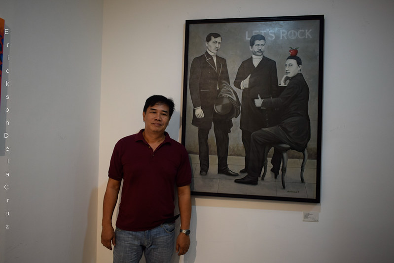 _Artist ARMENIUS ARALAR, Painter of Jose Rizal and the Gang