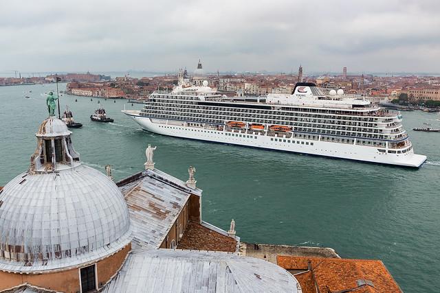 Italy / Venice / Cruise ship Viking Star