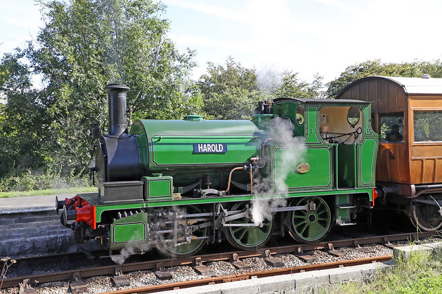 1208 Hudswell Clarke 0-6-0ST 'Harold'