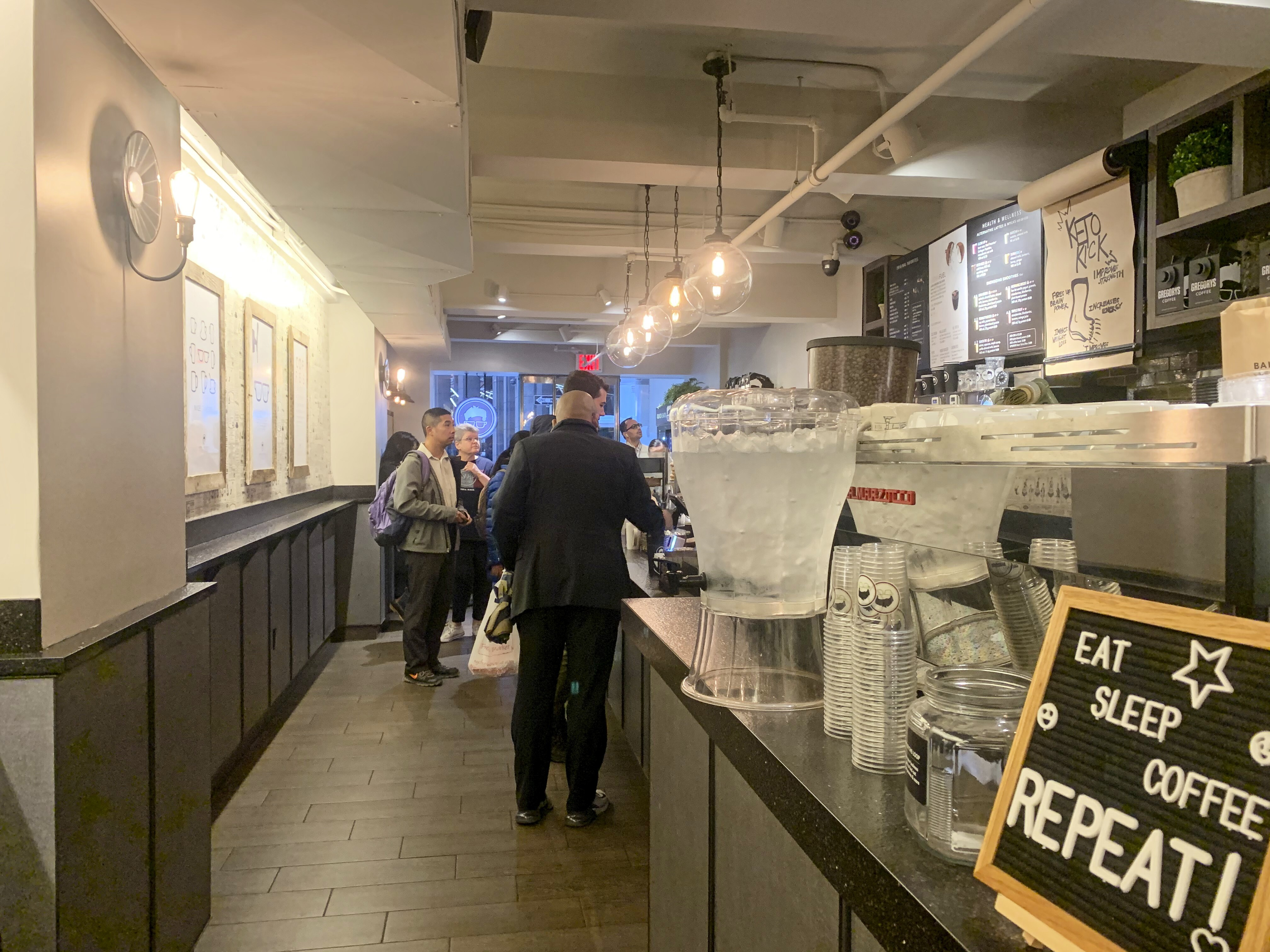 Gregory's Coffee, FiDi, NYC