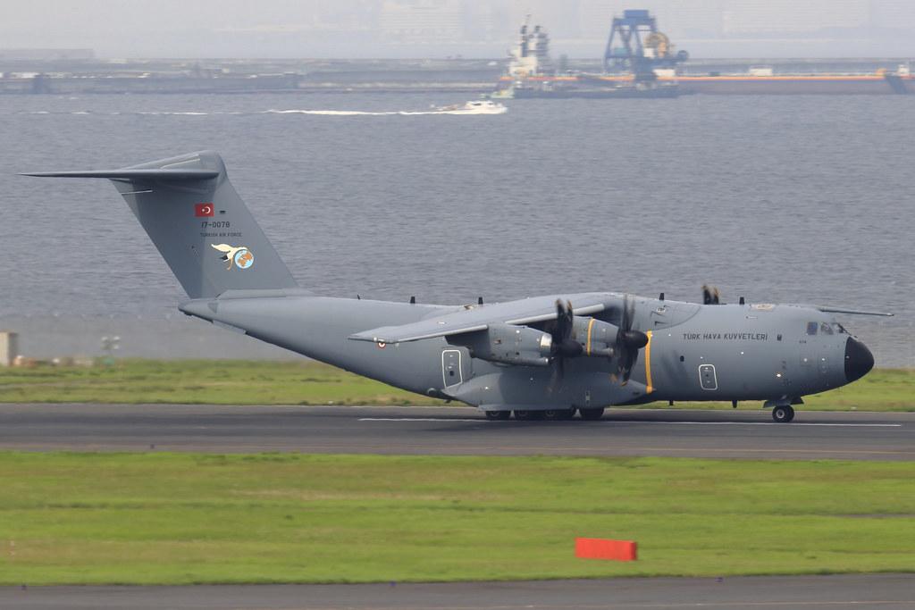 Turkish Air Force 221sq A400M 17-0078
