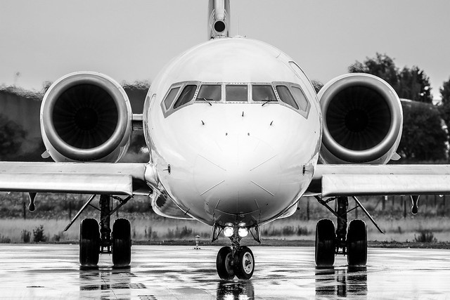 717 Black and White