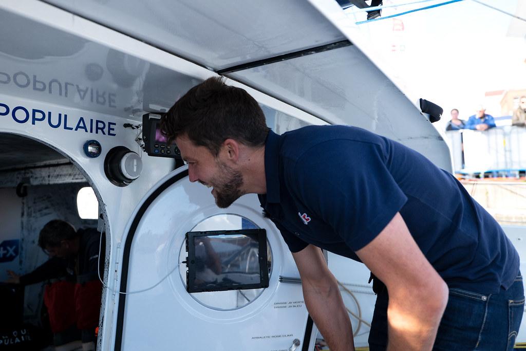 Jérémie Mion à bord