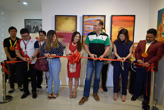 _Ribbon Cutting, SARILING SINING Art Exhibit (image 02)