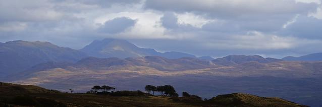 View to Ladhar Bheinn, from Ardvasar, Skye