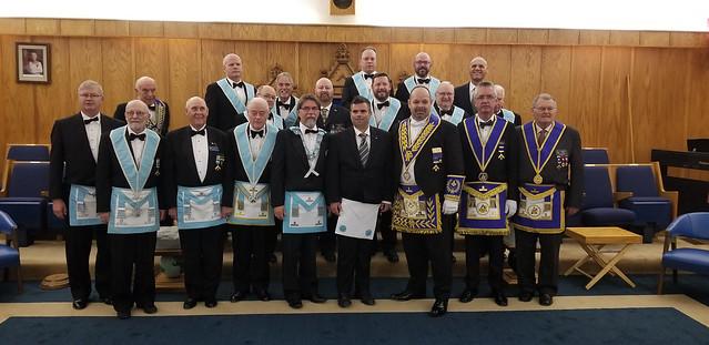 2019 10 10 Official Visit to Trafalgar Lodge No. 712