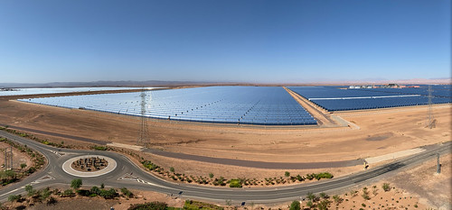 Noor 1 and 2 - Ouarzazate Solar Power Station | by Richard Allaway