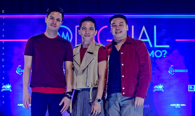 Topper Fabregas, Gio Gahol and Giancarlo Abrahan from SILA SILA, C1Originals 2019, Photo by Erickson dela Cruz