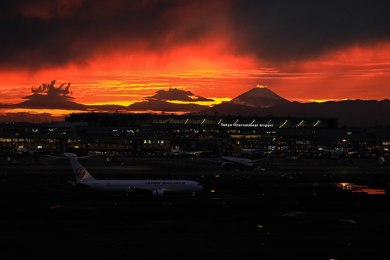 Airport Sunset
