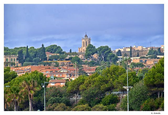 la catedral desde la Arrabasada