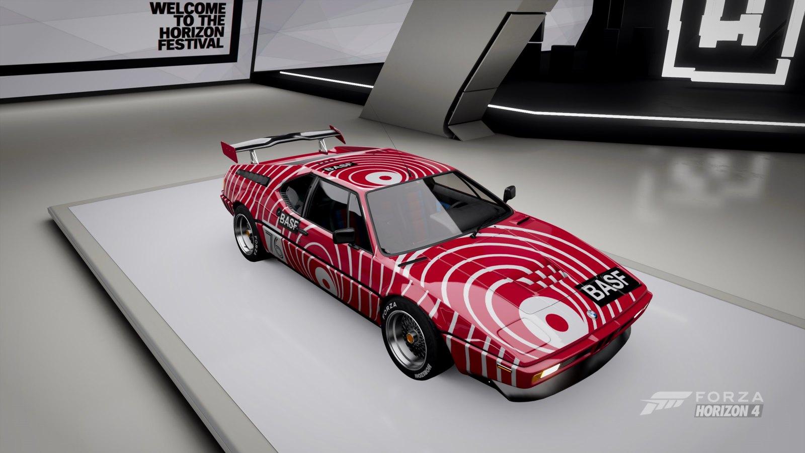BASF BMW M1