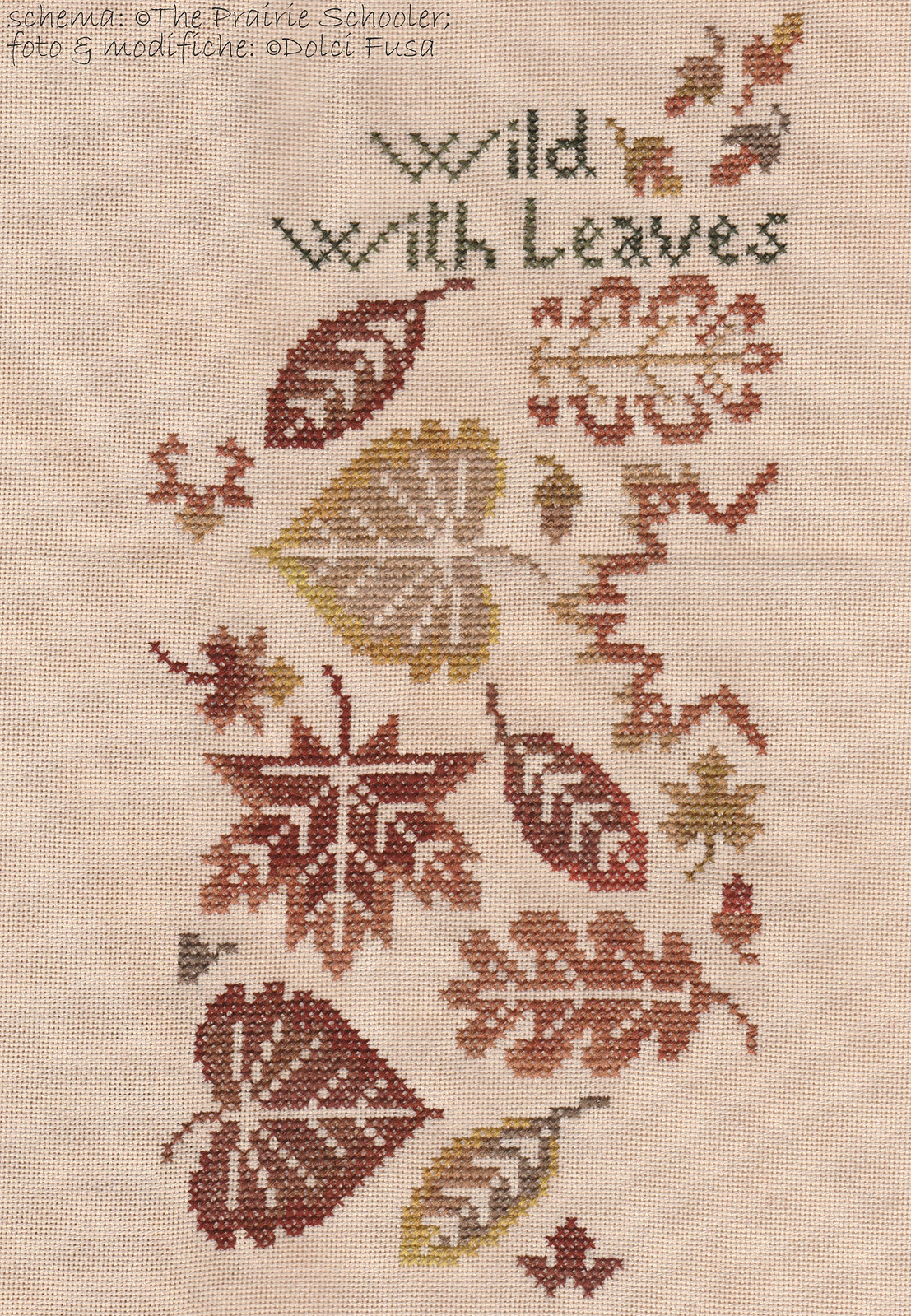 WIP - Autumn Sampler #06