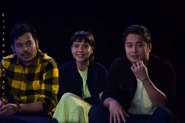 Victor Villanueva, Alessandra de Rossi, JM de Guzman of LUCID, C1Originals 2019, Photo by Erickson Dela Cruz